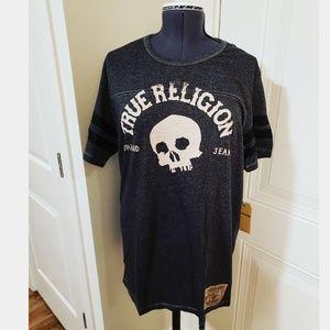 True Religion Grey Skull Top